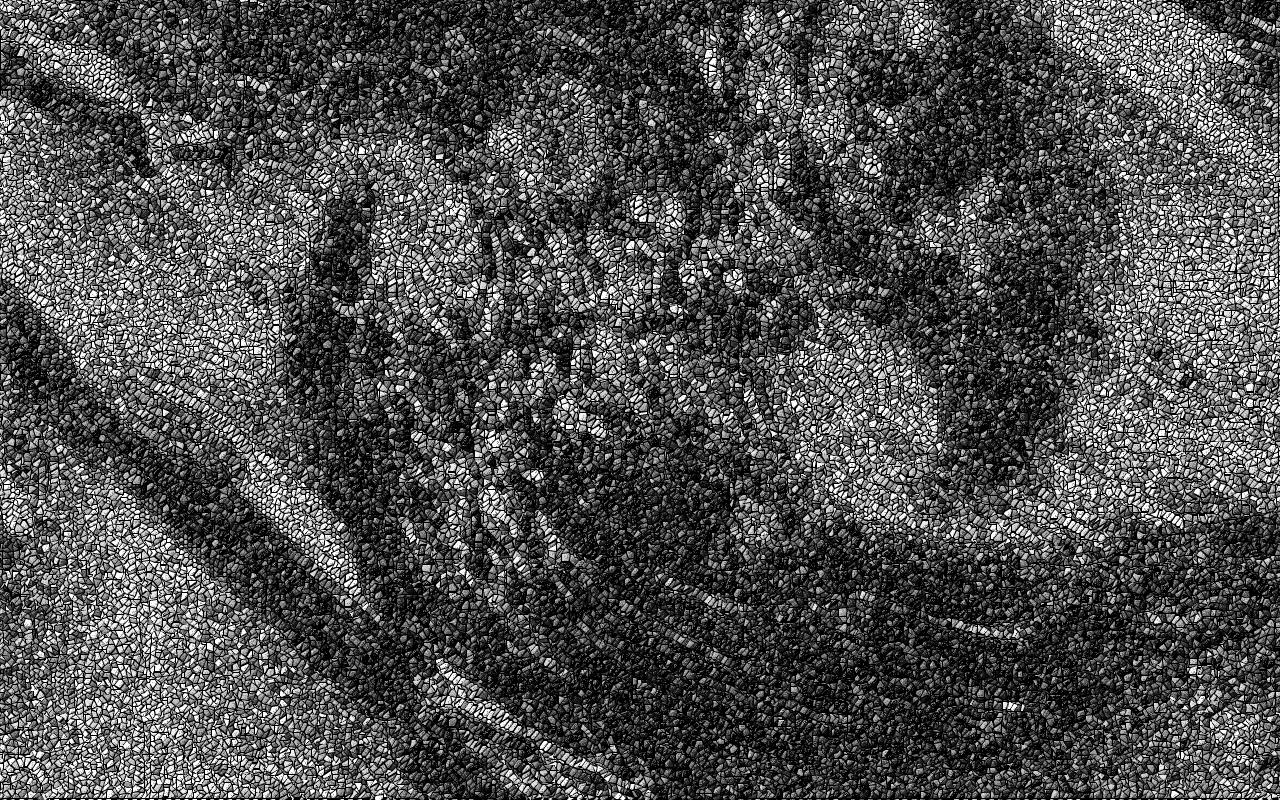 spirals mozaic